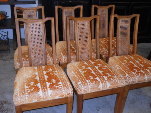 OVER 60 Yrs. Old KOA Dining Chairs Set of 6