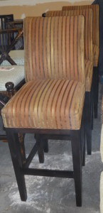 """Barstool W/Upholstered Seat Back Seat Height 30"""""""